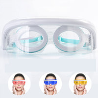 Brand New Eye Mask Electric Massager Machine 3 Modes USB LED Constant Temperature Beauty Eye Care Instrument