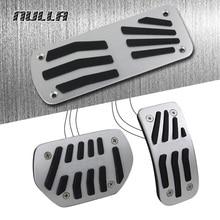 NULLA LHD без сверла алюминиевые педали для ног газовый топливный тормоз Автоматическая педаль для peugeot 2008 207 CC 208 SW GTI Замена RC