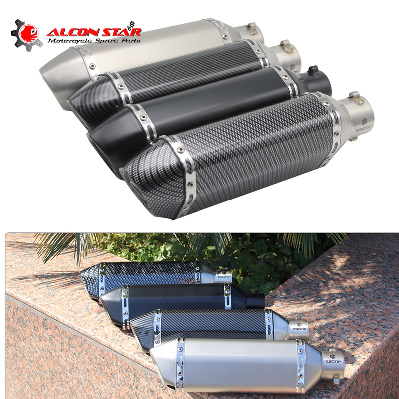 alconstar 51mm motorcycle akrapovic yoshimura exhaust. Black Bedroom Furniture Sets. Home Design Ideas