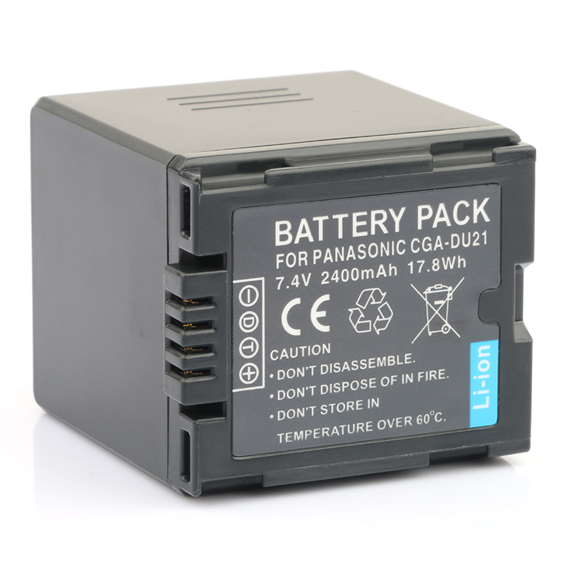 LANFULANG CGA DU21 Replacement Battery For Panasonic CGR-DU06 VW-VBD070 NV-GS47 NV-GS50 NV-GS27 SDR-H20 NV-GS57 NV-GS58