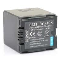 LANFULANG CGA DU21 Replacement Battery for Panasonic CGR-DU06 VW-VBD070 NV-GS47 NV-GS50 NV-GS27 SDR-H20 NV-GS57 NV-GS58