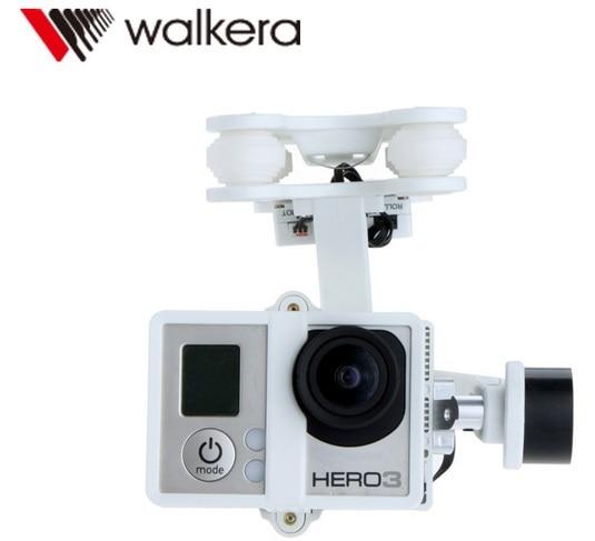 Original Walkera G-2D Brushless Gimbal White for iLook/ilook+/GoPro Hero 3 Camera on Walkera QR X350 Pro Free Track Shipping walkera g 2d camera gimbal for ilook ilook gopro 3 plastic version