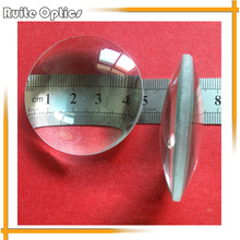 2pcs Dia 50mm Focal Length Optical Double Convex Optics Glass Lens Magnifying Lenses