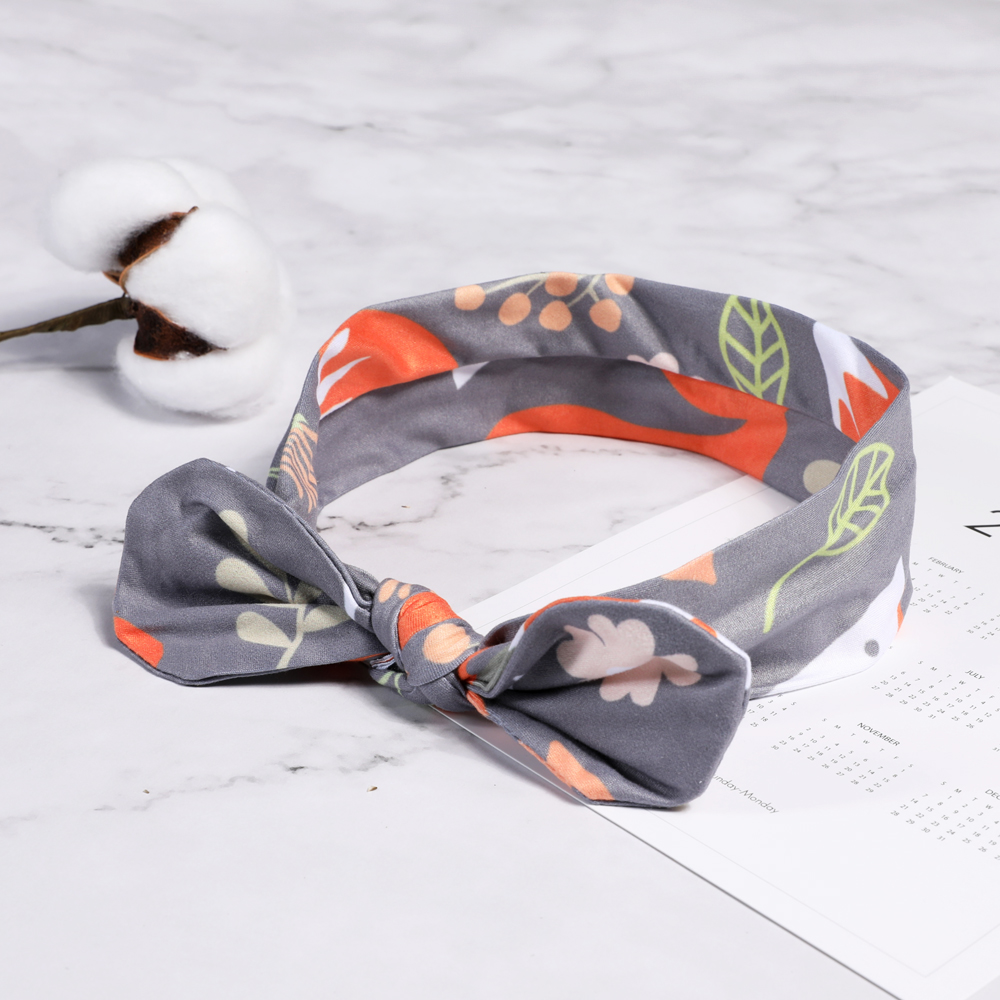 Colorful Newborn Bowknot Elastic Head Bands For Baby Girls Headband For Children  Baby Baby Accessories Floral Hair Hearband