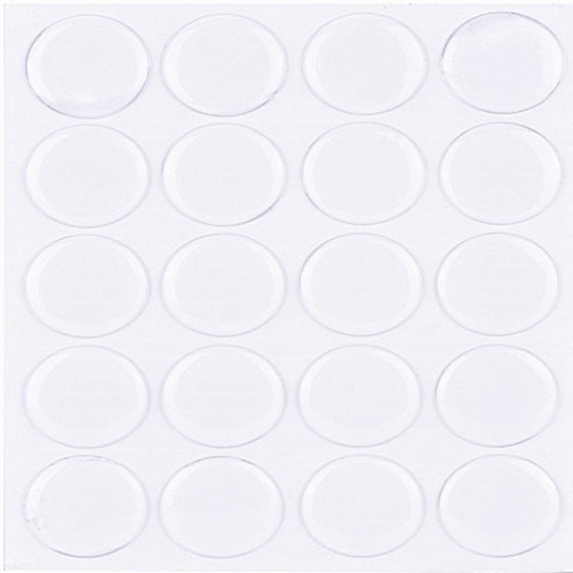 Wholesale 500 Pcs 1 inch 25.4mm Clear Epoxy Stickers Bottle Caps kit Round 3D Dome Free Shipping