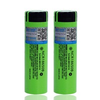 10 40PCS 2018 VariCore Original 18650 3400mAh battery NCR18650B with original new 3.7V Suitable for flashlights
