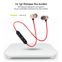 M9 Sport Running Bluetooth Headset Earphone Waterproof Bluetooth Wireless In Ear Ear pieces earbuds mic For Xiaomi for iphone(China)