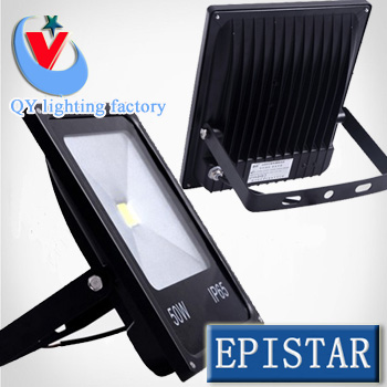 Free Shipping 10w 20w 30w 50w LED Flood Light Black Shell Led Outdoor Search Lamp Led Spot Light