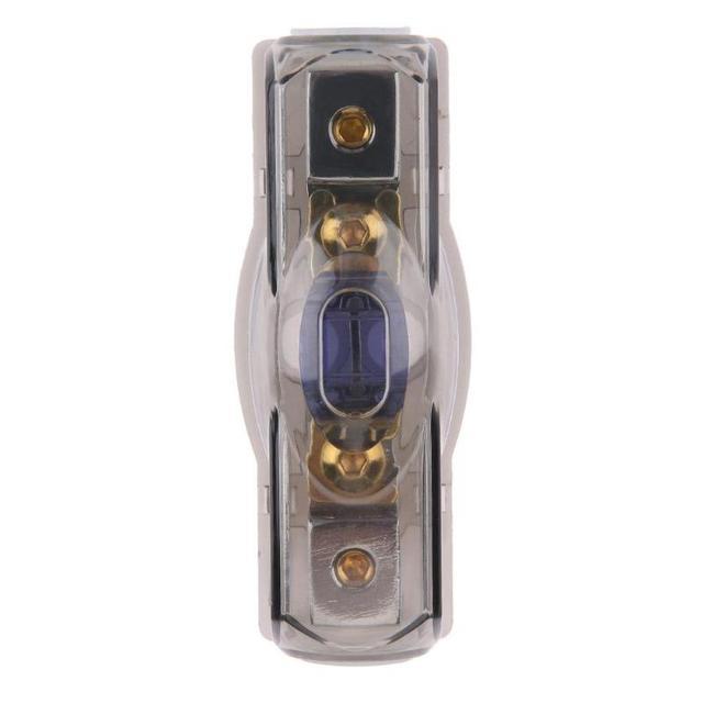 Best Price VODOOL DC 12V/24V 60A Car Circuit Breaker Automobiles Audio Power Amplifier Subwoofer Copper In-line Fuse Holder Block