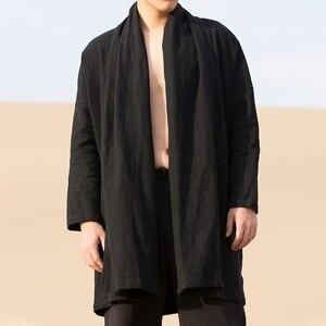 Image 3 - الملابس الصينية التقليدية للرجال الذكور سترة الشتاء الشرقية للرجال وشو الكونغ فو الزي الملابس السترات الرجال 2019 TA1139