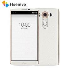Восстановленный Оригинальный разблокированный телефон LG V10 H901 F600, 5,7 дюйма, 4 Гб ОЗУ 64 Гб ПЗУ, одна/две sim-карты, 3 камеры, Восстановленный