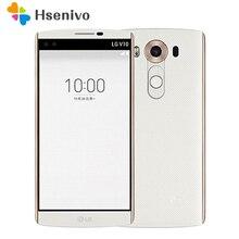 """Оригинальный разблокирована LG V10 H901 F600 5.7 """"4 ГБ Оперативная память 64 ГБ Встроенная память один/Dual SIM 3 камер Восстановленное телефон Бесплатная доставка"""