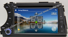 Free Shipping!ZESTECH China Factory OEM 2 Din Touch screen Car DVD Gps Navigation system for Ssang YONG Kyron Actyon