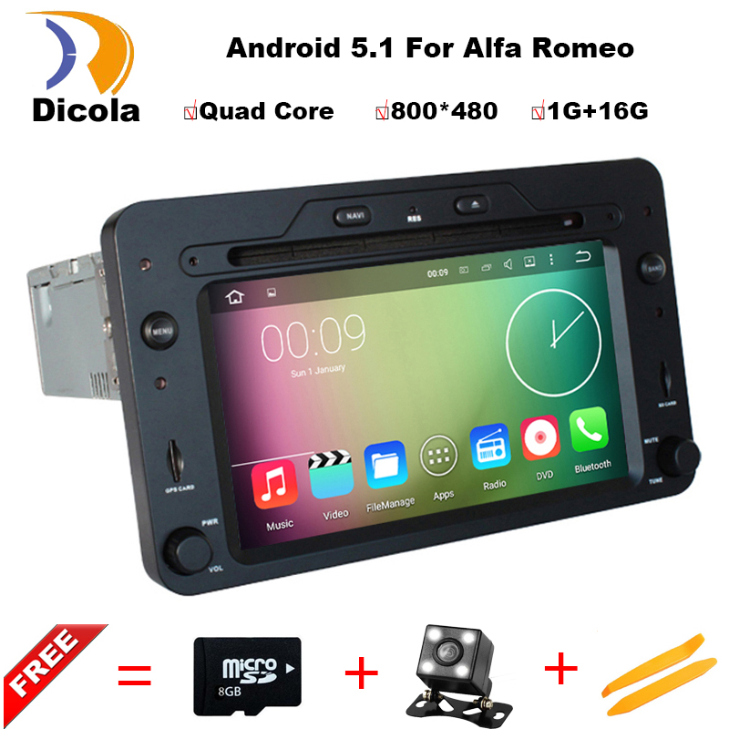Car DVD Player for Alfa Romeo Spider 159 Brera 159 Sportwagon 2005 2006 2007 2008 GPS