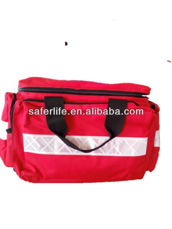 hot selling 45*31*31cm first aid kit big capacity nylon emergency ambulance empty medical bag empty bag for travel medical kit outdoor emergency kit home first aid kit treatment pack camping mini survival bag