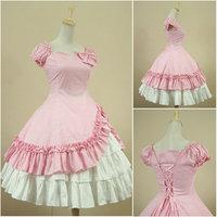 Customer made Pink Sweet Lolita Dress V 920
