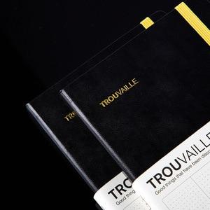 Image 2 - Gepunktete Notebook Dot Grid Journal A5 Hard Cover Tagebuch Dicken Reise Tagebuch Planer