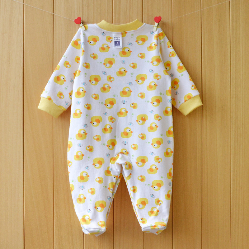 17 New spring cartoon baby rompers cotton 100% girls and boys clothes long sleeve romper Baby Jumpsuit newborn baby Clothing 11