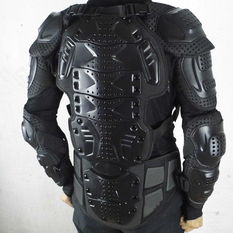 Motorcycle rider protector armor vests summer fall clothing off-road racing mesh quality armor( the locomotive car off road motorcycle 4 sets of four summer leggings kneecaps fall proof stainless steel brace length