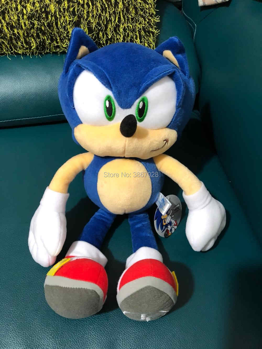 New Sonic Boom Stuffed Plush toy doll 14inches The Hedgehog