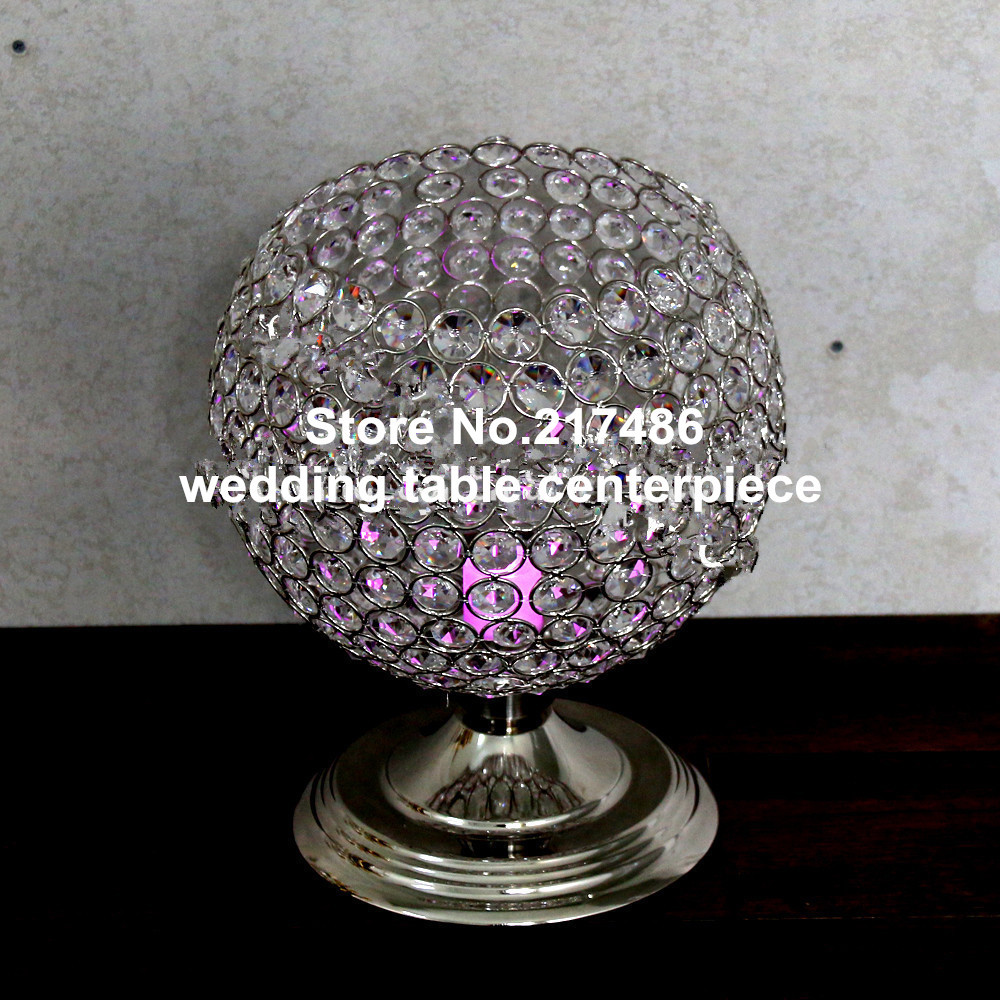 Crystal Table Top Chandelier Centerpieces For Weddings Wedding Whole In Glow Party Supplies From Home Garden On