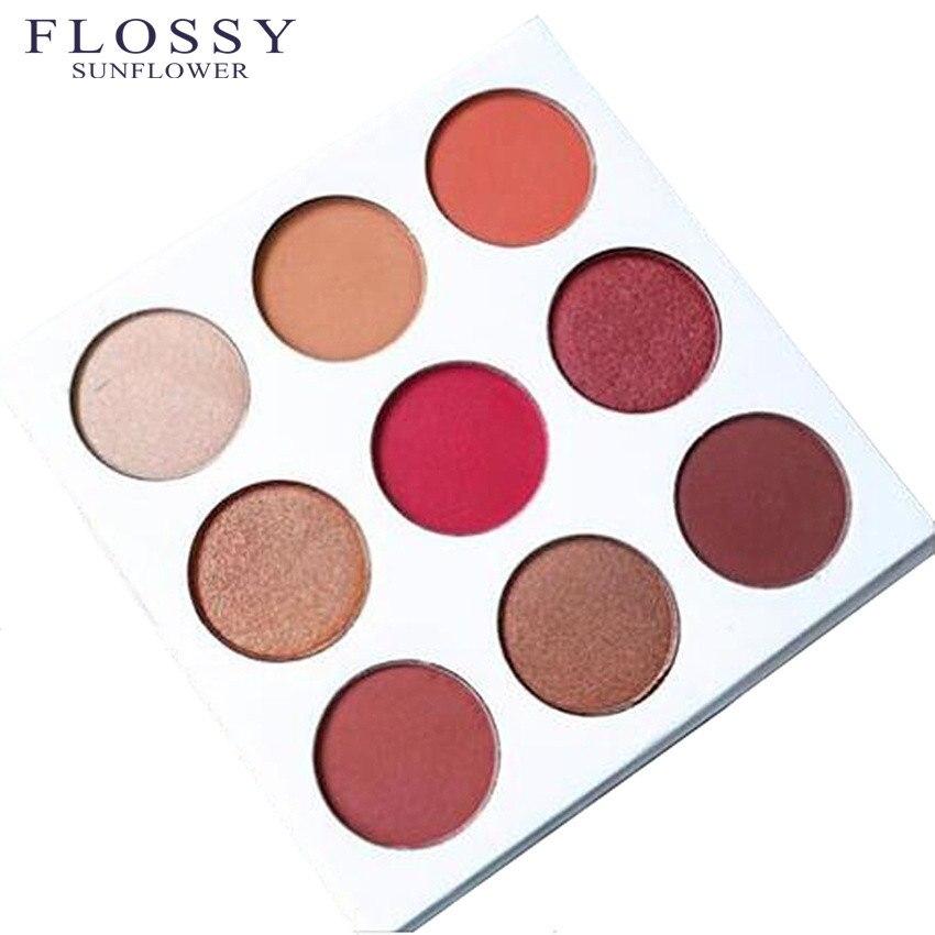 2017 9 Colors kilie Diamond Bright Makeup Eyeshadow Naked Smoky Palette Make Up Set font b