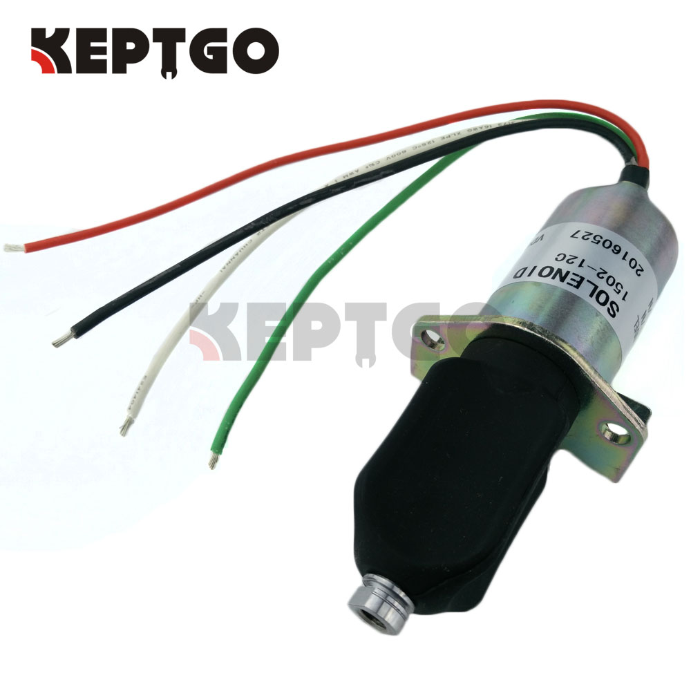 12v Stop Solenoid For Corsa Electric Captain's Call Systems, 10138PRL, 1502-12C 1502 12a6u1b1 for solenoid 1500 2004 12v 1502