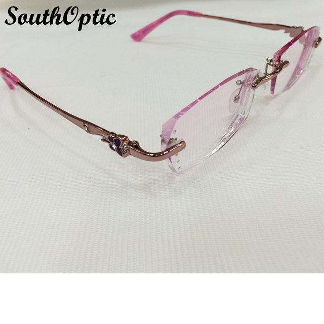 2016 óculos sem dioptria coreano de 1.61 Asphereic cor EMI lentes UV400 óculos de grau 8033 mulheres óculos