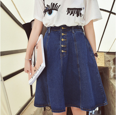 Online Get Cheap Jean Denim Skirt -Aliexpress.com | Alibaba Group