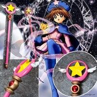 Athemis The magic card girl sakura star staff Cardcaptor Sakura magic wand High quality same as original character