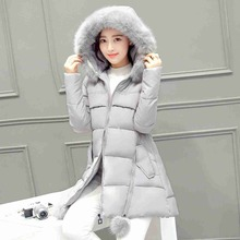 #2601 Winter jacket women 2016 Jaqueta feminina Long jacket women Fashion coat women 5 color Chaquetas mujer