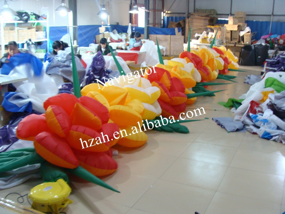 Decorative Inflatable Flower Chain For Wedding
