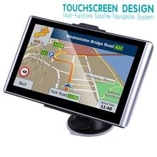 Автомобильный gps-навигатор 7 дюймов HD lcd емкостный экран FM спутниковый голосовой автомобильный gps-навигатор Navitel новейшая Европейская карта грузовик gps na