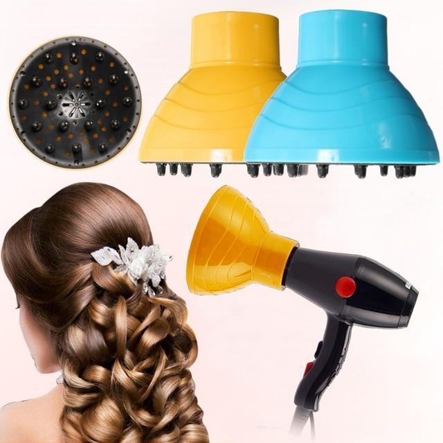 1 piezas profesional secador de pelo rizo difusor viento boquillas de  cubierta de peluquería herramientas Accesorios 9b253f03c327