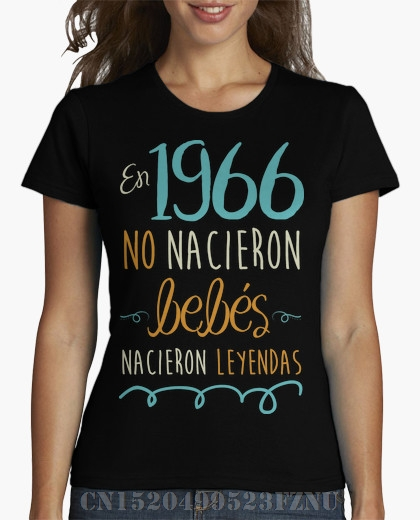 2018 Favourite t shirt women 1966 Short sleeves Fashion Cotton Four colors