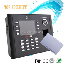 TCP/IP RJ45 fingerprint card time attendance webserver with back up battery and capacity big 8000 fingerprint capacity iclock680