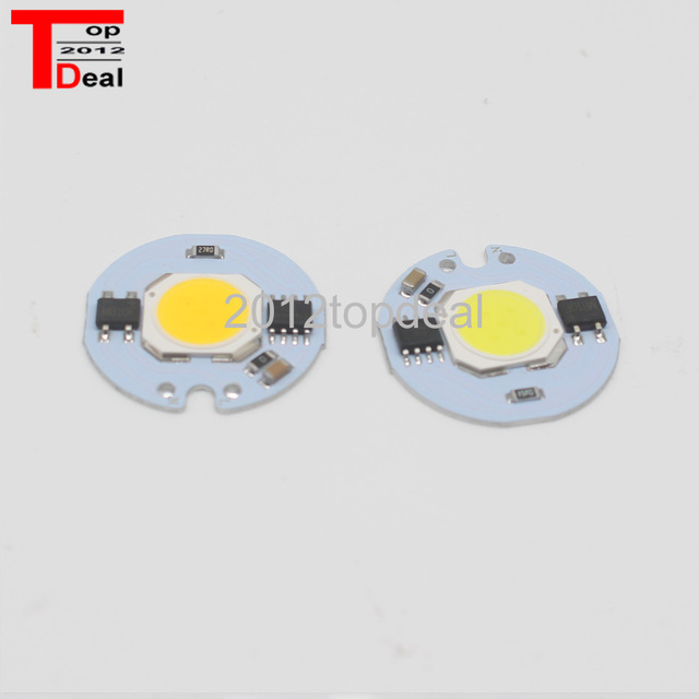 10PCS LED Cob Beans AC 220V LED Bulb Lamp With Smart IC Driver Bulbs Real 3W 5W 7W 9W Chip Spotlight DIY Outdoor Flood Light