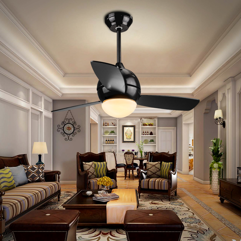 Ceiling Lights & Fans Modern Simple Colors Ceiling Fan Lamp Macaron Kids Room Living Room Led Iron Art Fan Lamp Colorful Fan Leaves Deco Pendant Lamp Lights & Lighting