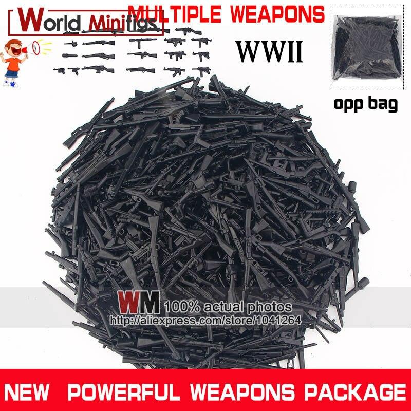 Military SWAT Police Soldat Armée Pistolet Mini armes Blocs de construction s/'adapte à figures