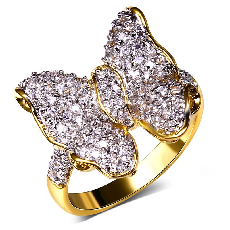 Bijou Ring female Vintage Wedding rings 18k gold Designer ...