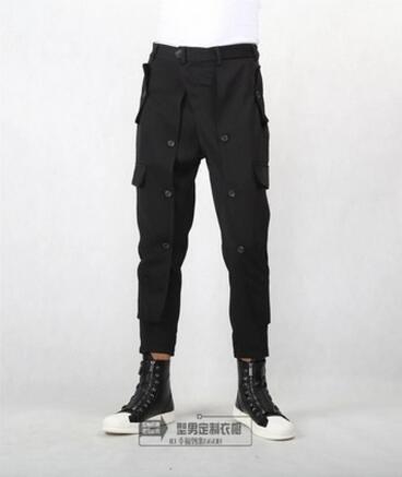 Taille S Coiffeur Pieds Des La Casual Mode Plus L'europe Pants Vêtements 5xl Petits Hommes 2018 Ankle De Costumes Haroun Chanteur Nouveaux Pantalon Length 66qrTwxF7