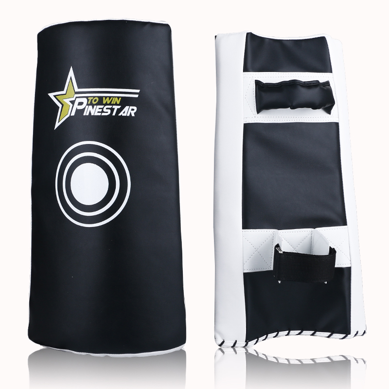 Forceful High Quality Martial Arts Arm Pad Kangrui Taekwondo Karate Kick Boxing Curved Foot Target Armguards Flanchard Arc Hand-target Year-End Bargain Sale Sports & Entertainment Fitness & Body Building