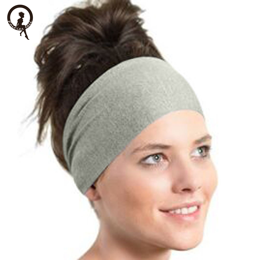Fairies Tell Soft Adjustable Headband Women Elastic Wash