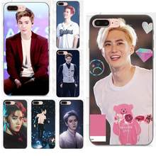 Für Apple iPhone 4 4 S 5 5 S SE 6 6 S 7 8 Plus X XS Max XR weiche TPU Handy Fall Suho Kim Juni Myun Exo Kpop(China)