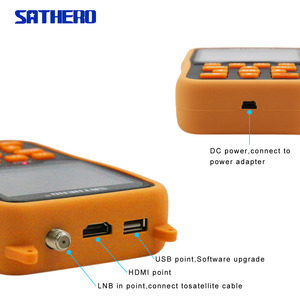Image 3 - Sathero Orignal SH 400HD DVB S2 HD לווין Finder מטר MPEG 4 דיגיטלי satfinder מטר מלא 1080P טלוויזיה לווין אות finder