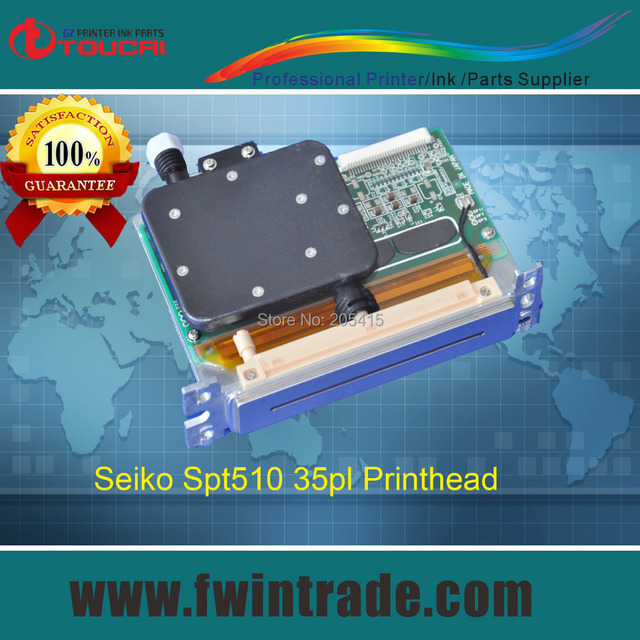 Delivery in 24hours!!! 100% original New type spt 510 35pl print head for infinity gongzheng printer