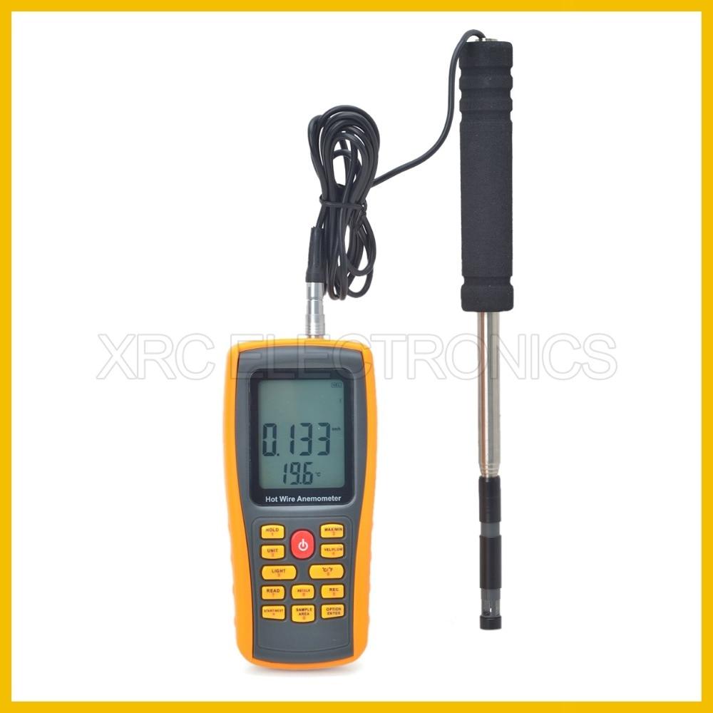 RZ GM8903 Anemometro Misuratore di velocità del vento Misurazione - Strumenti di misura - Fotografia 2