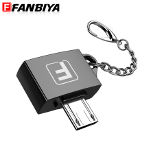 FANBIYA Micro usb OTG Adapter Mini usb c Male to usb 2.0 Adapter Converter for Samsung Xiaomi LG Huawei Android Mobile Phones