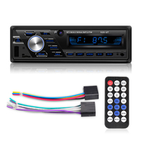 Auto radio 12V/24V Car/truck Radio Bluetooth 1din Car Stereo Player Phone AUX ISO Interface MP3 FM/USB/Radio Remote Control