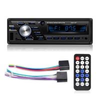 Auto radio 12V/24V Car/truck Radio Bluetooth 1din Car Stereo Player Phone AUX ISO Interface MP3 FM/USB/Radio Remote Control